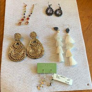 Beautiful array of earrings